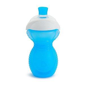 Copo Infantil Bite Proof Click Lock Munchkin Azul
