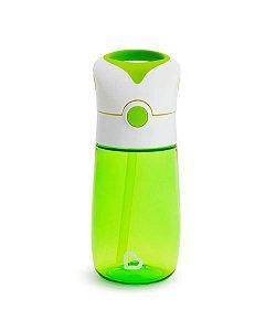 Copo Infantil Com Canudo Flip & Go Munchkin Verde