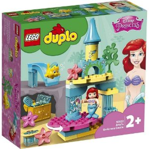 LEGO DUPLO Disney O Castelo do Fundo do Mar da Ariel