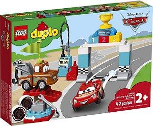 LEGO DUPLO Disney Carros Dia da Corrida do Relâmpago McQueen