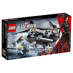 LEGO Marvel Vingadores Perseguição de Helicóptero da Viúva Negra