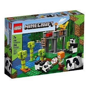 LEGO Minecraft A Creche dos Pandas