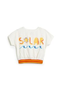 Blusa Fábula Silk Solar Off White