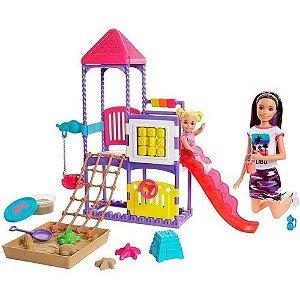 Boneca Barbie Family Skipper Dia No Parque Mattel