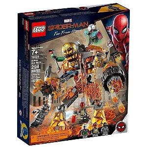 LEGO Marvel Homem-Aranha O Combate de Molten Man