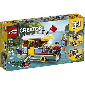 LEGO Creator Casa Flutuante na Margem do Rio
