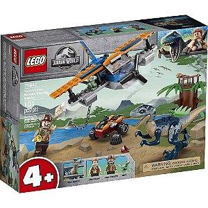 LEGO Jurassic World Velociraptor: Missão de Resgate com Biplano