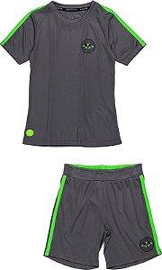Conjunto Infantil Youccie Sport Cinza