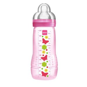 Mamadeira Active 330ml MAM Rosa