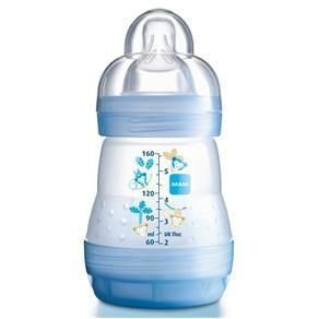 Mamadeira First Bottle 160ml MAM Azul