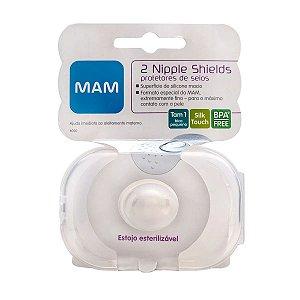 Protetores Para Seios Nipple Shields MAM Transparente