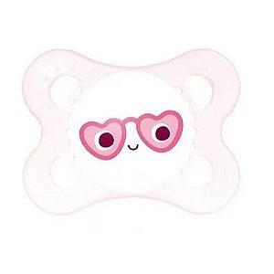 Chupeta Pearl 0-6m MAM Rosa