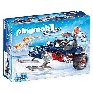 Playmobil Pirata do Gelo com Moto - Sunny 1714