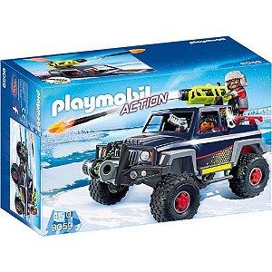 Playmobil Pirata Do Gelo Com Jipe - Sunny 1715