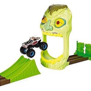 Pista Carrinho Monster Jam Playset Com Rampa