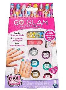 Go Glam Nail Gliter com 6 Cores Brilhantes - Sunny 2134