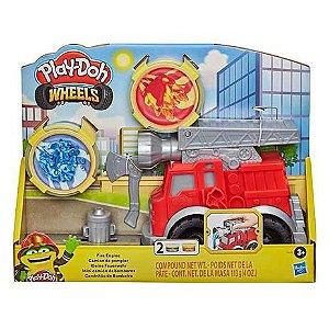 Massinha Play-Doh Conjunto Caminhão de Bombeiro - Hasbro