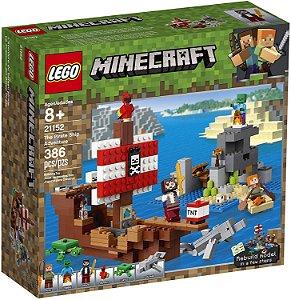 LEGO Minecraft A Aventura do Barco Pirata
