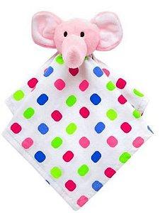 Naninha Animal Fun Elefantinho Doces Sonhos Branco Com Bolas Coloridas - Buba