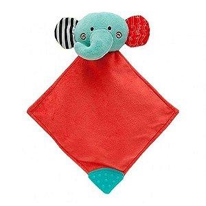 Naninha Animal Fun Elefantinho Vermelho e Verde - Buba