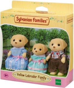 Sylvanian Families Família dos Labradores - Epoch Magia 5305