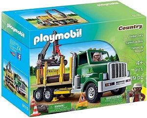 Playmobil Caminhão Porta Madeira - Sunny 1706