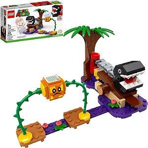 LEGO Super Mario Confronto na Selva com Chomp Chomp