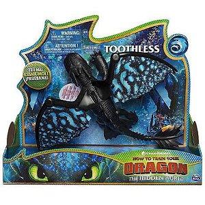 Figura Como Treinar O Seu Dragão 3 Toothless