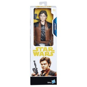 Boneco Star Wars O Último Jedi Hansolo 30cm - Hasbro