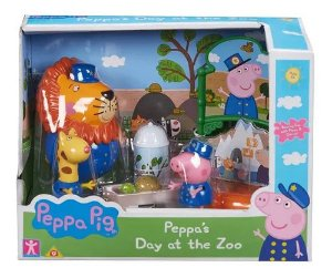 Playset Peppa Pig Zoologico