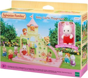 Sylvanian Families Família Playground do Castelo - Epoch Magia 5319