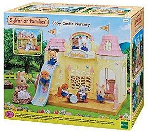 Sylvanian Families Família Castelo Jardim da Infancia - Epoch Magia 5316