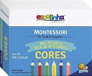 Coleção Escolinha Montessori Meu Primeiro Box de Atividades cores