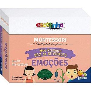 Coleção Escolinha Montessori Meu Primeiro Box de Atividades... Cores