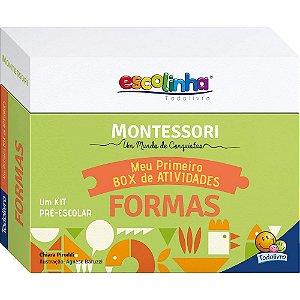 Coleção Escolinha Montessori Meu Primeiro Box de Atividades... Formas
