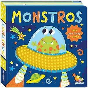 Livro Na Ponta dos Dedos: Monstros