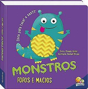 Livro Toque e Sinta: Monstros fofos e macios