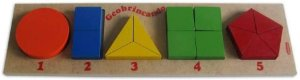 Brinquedo de Madeira Geobrincando Carimbras - Brinquedo Educativo em Madeira