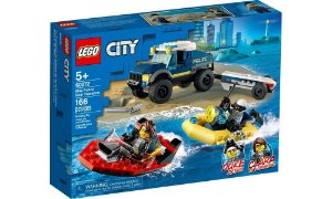 LEGO City Transporte de Barco da Polícia de Elite