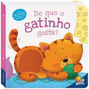 Livro Amiguinhos Adoráveis: Do que o Gatinho gosta?