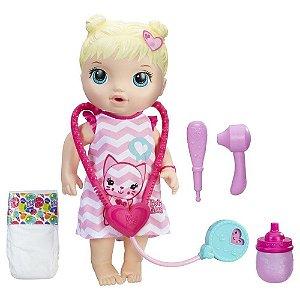 Boneca Baby Alive Cuida de Mim Hasbro - Loira