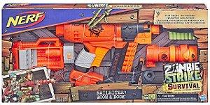 Lançador Nerf Zombie Strike Nailbiter XL Hasbro - E6163