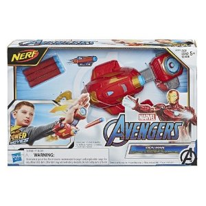 Lançador Nerf Power Moves Homem de Ferro Hasbro - E7376