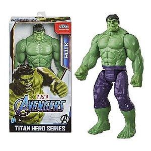 Boneco Vingadores Titan Hero Deluxe Hulk Hasbro - E7475