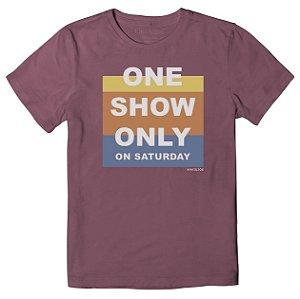 Camiseta Infantil King&Joe One Show Only CA02011K