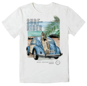 Camiseta Infantil King&Joe Fusca Surf-Rider CA02024K