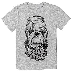 Camiseta Infantil King&Joe Bulldog Strange CA02025K