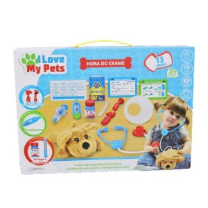 I Love My Pets Hora do Exame - Multikids BR1216