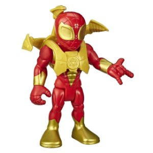 Boneco Homem Aranha de Ferro Super Hero Adventures - Hasbro E6224