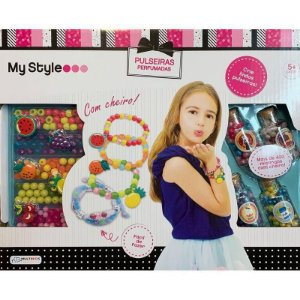 My Style Kit de Pulseiras Perfumadas - BR1119 Multikids